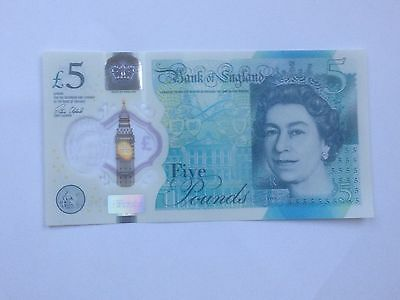 Soon To Be Very Rare Collectors Ak47 new 5 pound note
