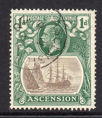 Ascension 1d Stamp c1924-33 Used SG11