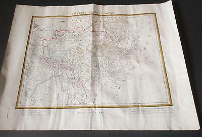 Antique Map of China and Japan Pablo Alabern