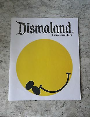 Officail Collectable Banksy Dismaland Bemusement Park Programme