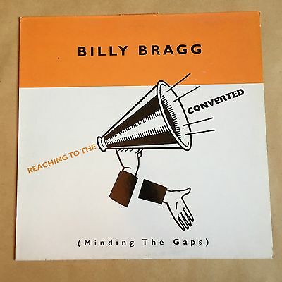 Billy Bragg Reaching To The Converted First UK Pressing Vinyl Album