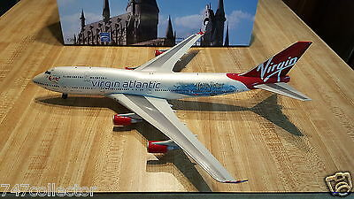 BBOX Models Virgin Atlantic Airways B 747-443 1:200 Harry Potter G-VLIP