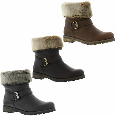 Panama Jack Singapur Womens Fur Lined Waterproof Leather Boots Size 4-8