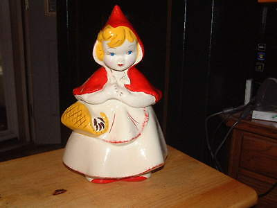Rare Mccoy Little Red Riding Hood Cookie Jar