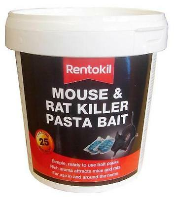 Rentokil Mouse & Rat Killer Pasta Bait Easy To Use Home & Garden 400g
