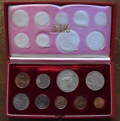1966 South Africa 7-piece Proof Set