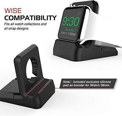 Apple Watch Stand MoKo iWatch Holder Mount Charging Dock Non-Slip Base and Slot