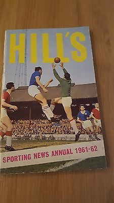 Hill's Sporting News Annual 1961 - 1962
