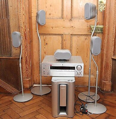Sony home cinema system/ surround sound / 5 speakers, sub woofer and amplifier