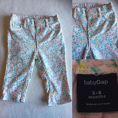 Baby Girls Clothes 3-6 Months - Pretty Gap Trousers -