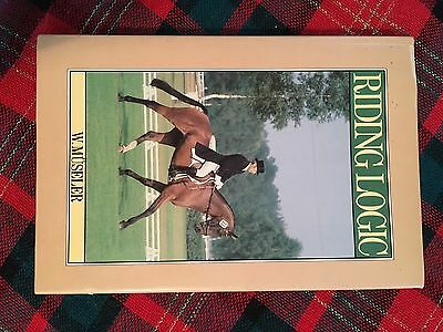 "Horse Book ""Riding Logic"" By W. Museler"