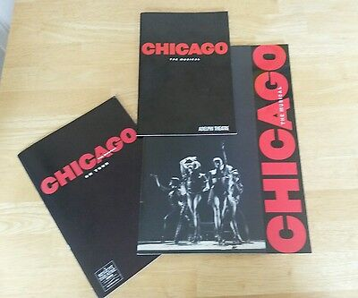 Chicago The Musical - West End Souvenir and Theatre programmes and regional