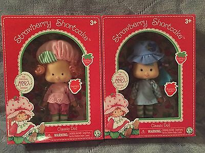 Strawberry Shortcake Blueberry Muffin & Raspberry Tart Classic Doll Collection