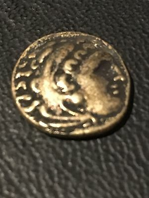 Ancient Greek Coin Repro-ALEXANDER THE GREAT KING