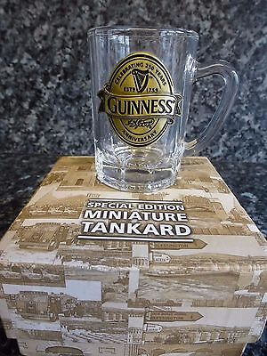 Guinness Special Edition Miniature Tankard. Boxed