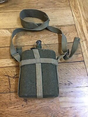 wartime military flask