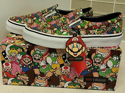 Vans - Genuine Brand new Kids Nintendo Mario Bros shoe's