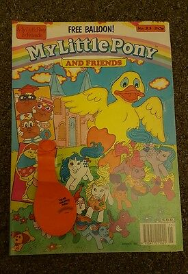 My Little Pony comic S.O.R No.33 London editions magazines
