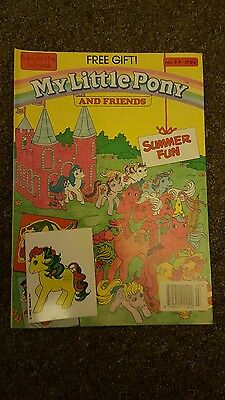 My Little Pony comic S.O.R No.34 London editions magazines