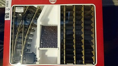LGB 19901 siding track set with buffer G scale
