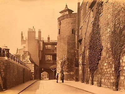 Large Albumen Photograph Tower of London by the Stereoscopic Company 1880s