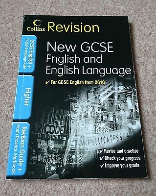 GCSE English and English Language Revision Guide Book from 2010