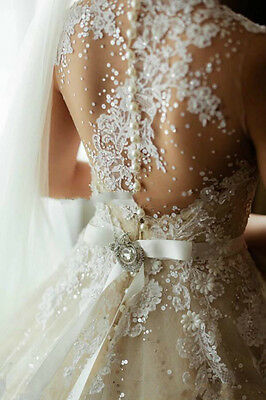 New Sweetheart White/Ivory Bridal Gown Wedding Dress Size:6/8/10/12/14/16/18++