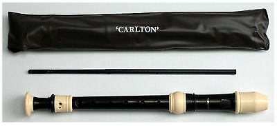 CASELOAD x 30 CARLTON DESCANT RECORDERS c/w CARRY BAGS - FREE SHIPPING UK