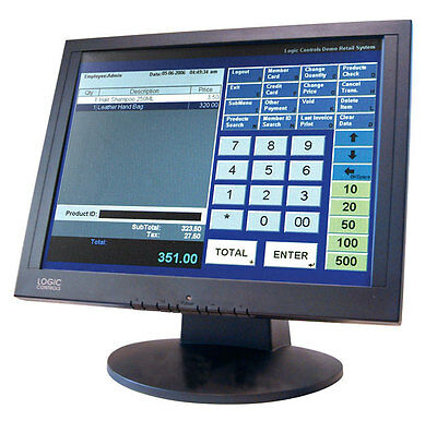 LE1000 Touchscreen Displays from Logic Controls