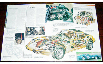 Marco Mantua Spyder Fold-out Poster + Cutaway drawing