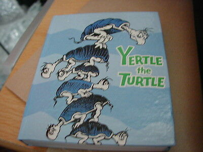 Dr Seuss Yertle The Turtle Small Notebook - Brand New