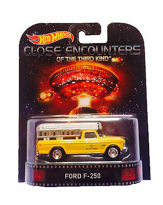 Hotwheels Retro Close Encounters Of The Third Kind Ford F-250  Real Rider Tyres)