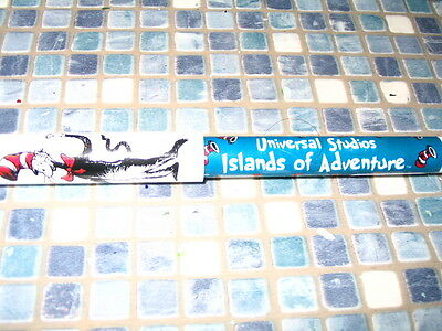 Dr Seuss Cat In The Hat Pen Islands Of Adventure Brand New - Very Rare