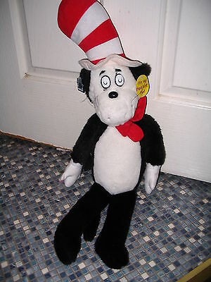 Dr Seuss Cat In The Hat Talking Plush Toy By Applause Brand New!! Very Rare