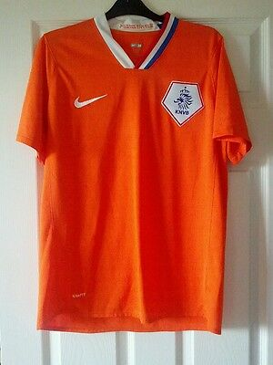 Nike Netherlands Football Home Shirt 2008 Size M - bargain at only £6.