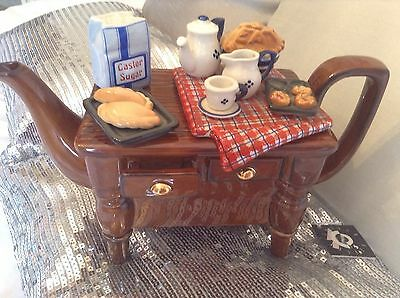 Cardew Large Novelty Collectable Pasty&jam Tarts Baking Table Lovely Condtion