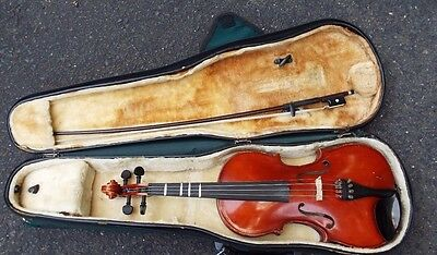 Meisel 3/4 Size Violin with case and bow Model 6104 80