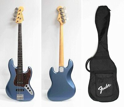 Fender Japan JB62 Jazz Bass Mod Old Lake Placid Blue Used Electric Bass Guitar