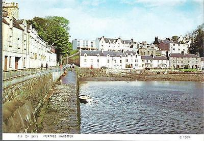 Portree, Isle of Skye - Harbour - Judges postcard c.1970s
