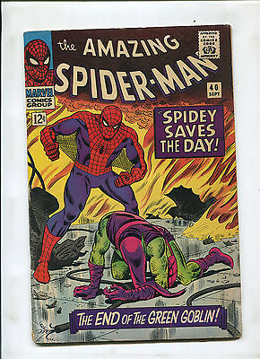 The Amazing Spider-Man #40 (5.0) 1St Told Origin Of The Green Goblin! Key!