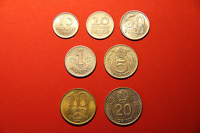 Lot of 13 coins from Bulgaria & Hungary