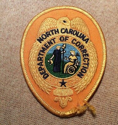 NC North Carolina Department of Correction Patch