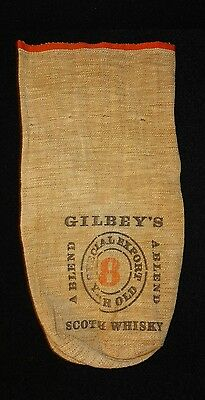 Gilbey's Scotch Whisky Canvas Bag Only