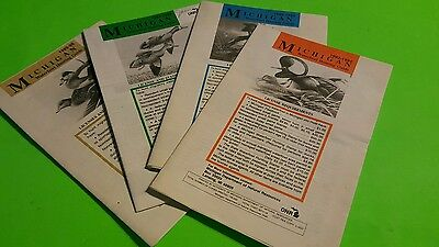 4 Michigan MI DNR Waterfowl Hunting Guides Goose Duck Hunting License Law Digest
