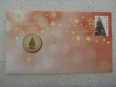 2011 $1 CHRISTMAS PNC COVER ISSUE 12 - 2011 xmas PNC Coin