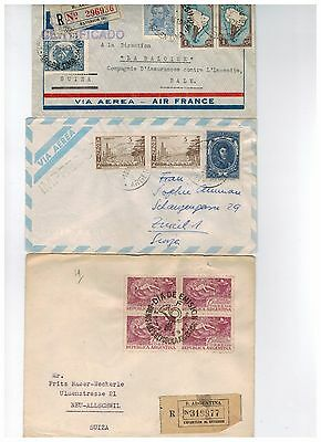 Three old Argentina covers.