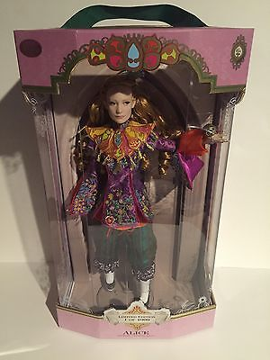Disney Limited Edition Collectors Doll Alice In Wonderland