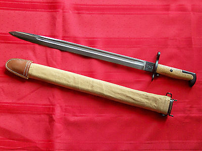 M-1905 Springfield Bayonet With Scabbard High Quality Reproduction