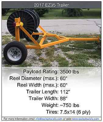 Self Loading Cable Reel Trailer