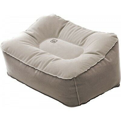 Go Travel Inflatable Travel Foot Rest Grey No Pump Needed 475